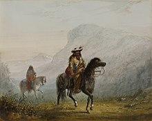 raffigurato ca.  1858-1860 di Alfred Jacob Miller