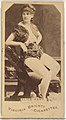 Alice Hart, from the Actors and Actresses series (N45, Type 1) for Virginia Brights Cigarettes MET DP829555.jpg