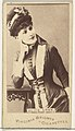 Alice Lody, from the Actors and Actresses series (N45, Type 1) for Virginia Brights Cigarettes MET DP829667.jpg