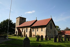 Eagle, Lincolnshire - Image: All Saints' church geograph.org.uk 236532