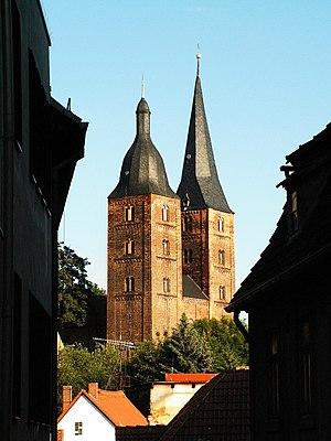 Barbarossa city - Rote Spitzen of Augustine monastery