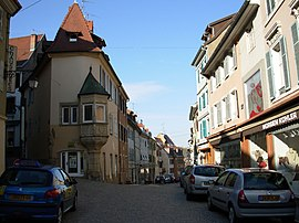 Historic centre of Altkirch.