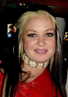 Amanda Overmyer at the American Idol, Season 7, Top 12 after party on March 6, 2008.