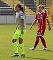 Amber Hearn und Kristin Demann BL FCB gg. 1. FC Koeln Muenchen-1.jpg