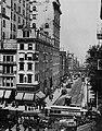 Amerikanischer Photograph um 1892 - Der Broadway, Verkehr (Zeno Fotografie).jpg