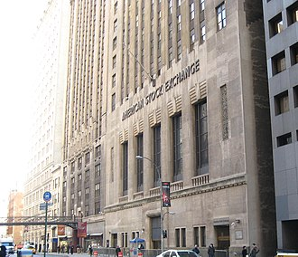 American Stock Exchange Building - Formerly New York Curb Exchange Building
