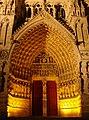 Amiens Cathédrale Nuit 190908 1B.jpg