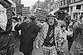 Amsterdam, Palestijnse organisaties demonstreren tegen Israelisch optreden in be, Bestanddeelnr 934-1983.jpg