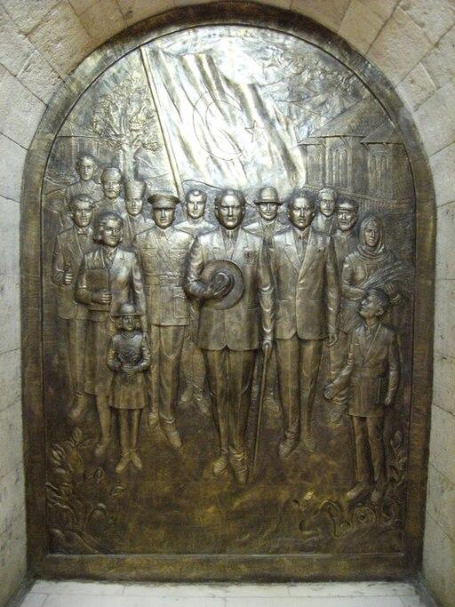 Anıtkabir rölyef 12