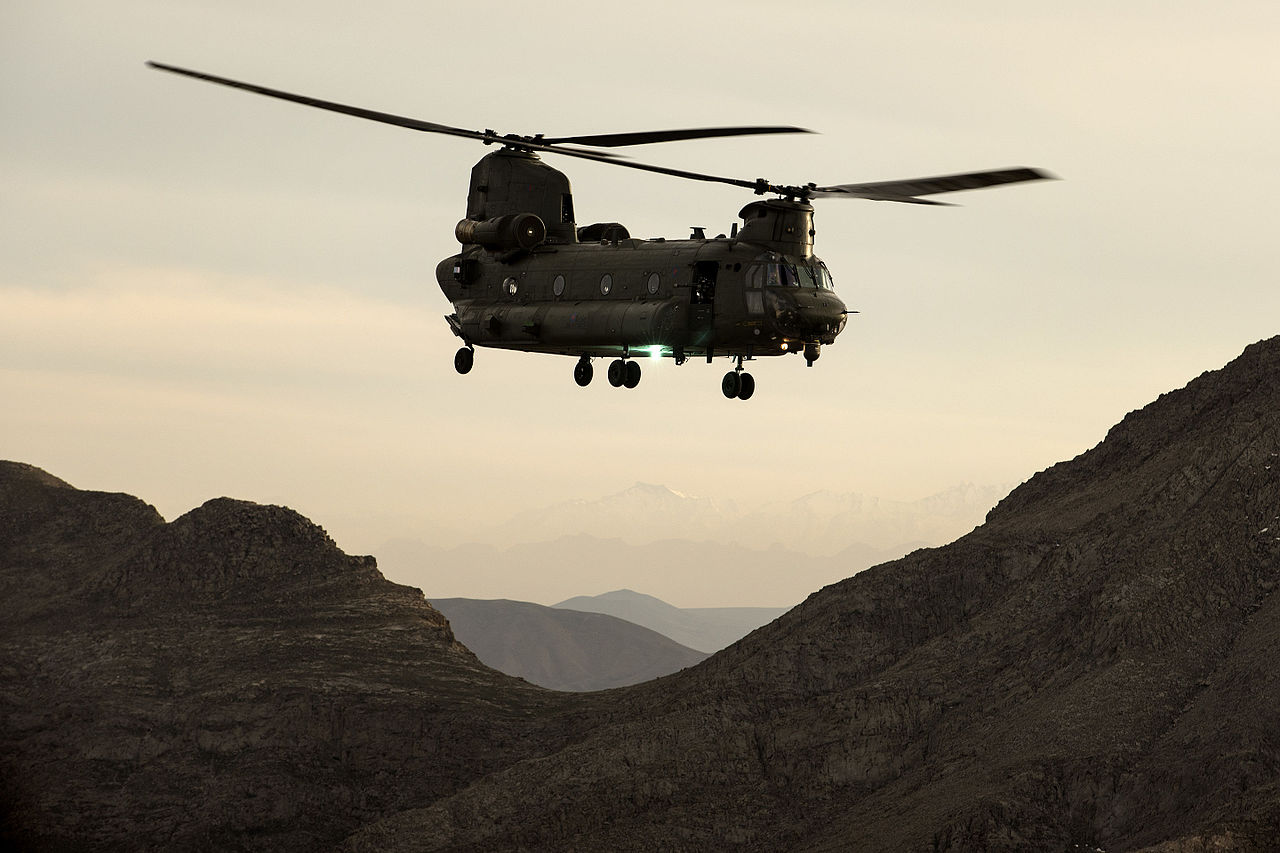 File:An RAF Chinook he...