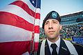 An ROTC honor guard cadet stands at attention Sept 140906-D-KC128-986.jpg
