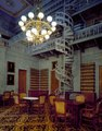 An ornamental cast-iron staircase is a feature in this room, which was once the Tennessee State Library, in the capitol in Nashville, Tennessee LCCN2011631699.tif
