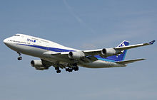 Boeing 747-400 der All Nippon Airways