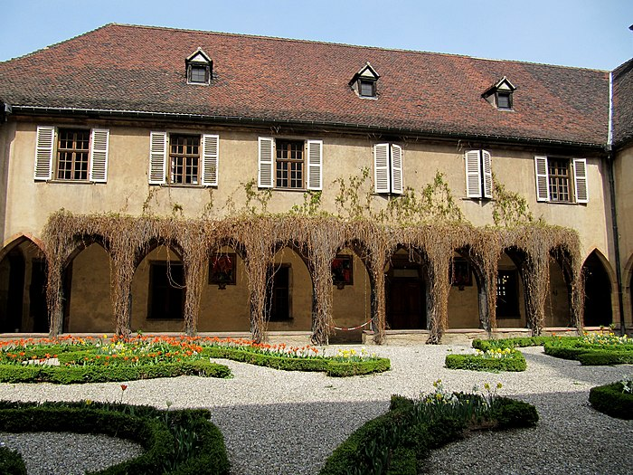 couvent des dominicains monument historique colmar. Black Bedroom Furniture Sets. Home Design Ideas