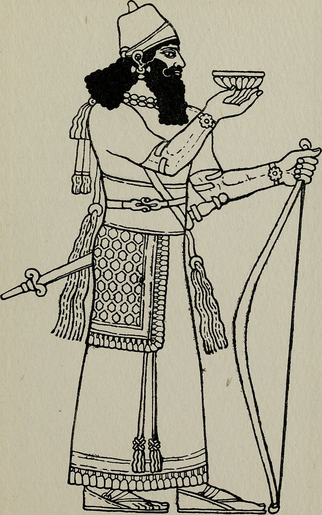 Ancient Egyptian, Assyrian, and Persian Costumes