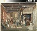 Anders Ekman - Veteraani kertoo, talonpoikaistupa Nauvossa... - A II 985-142 - Finnish National Gallery.jpg