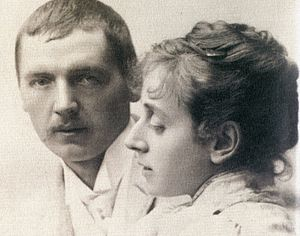 Anders Zorn - Anders and Emma Zorn around 1885.