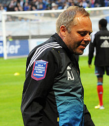 Anders Johansson managed Djurgården in the 2008 and 2009 seasons. 63b8bc0f781de