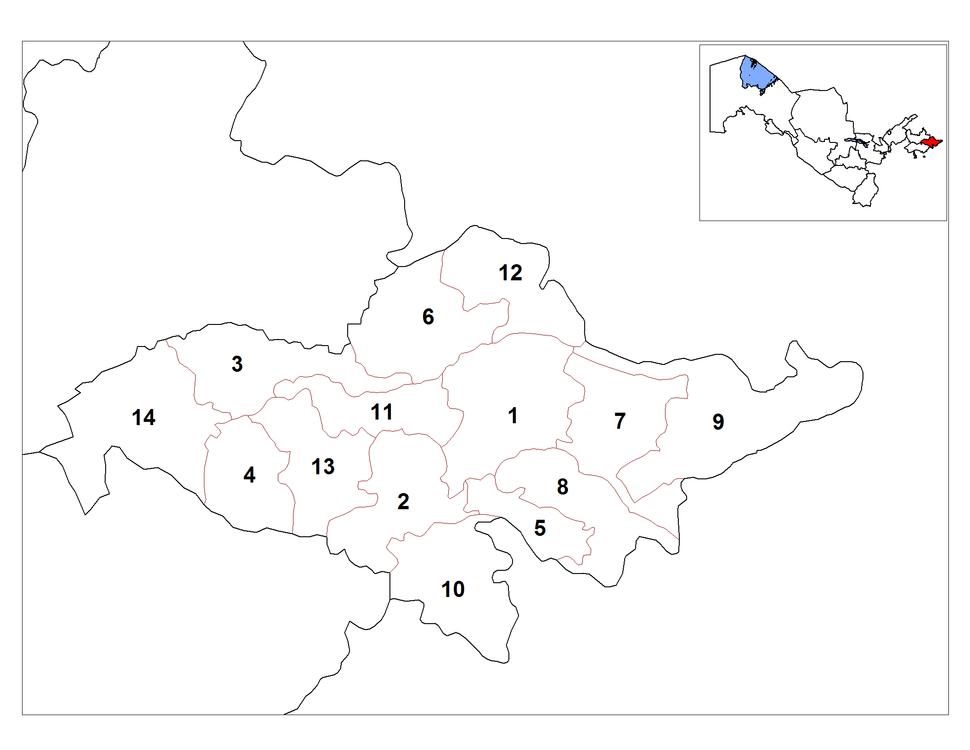 Andijan districts