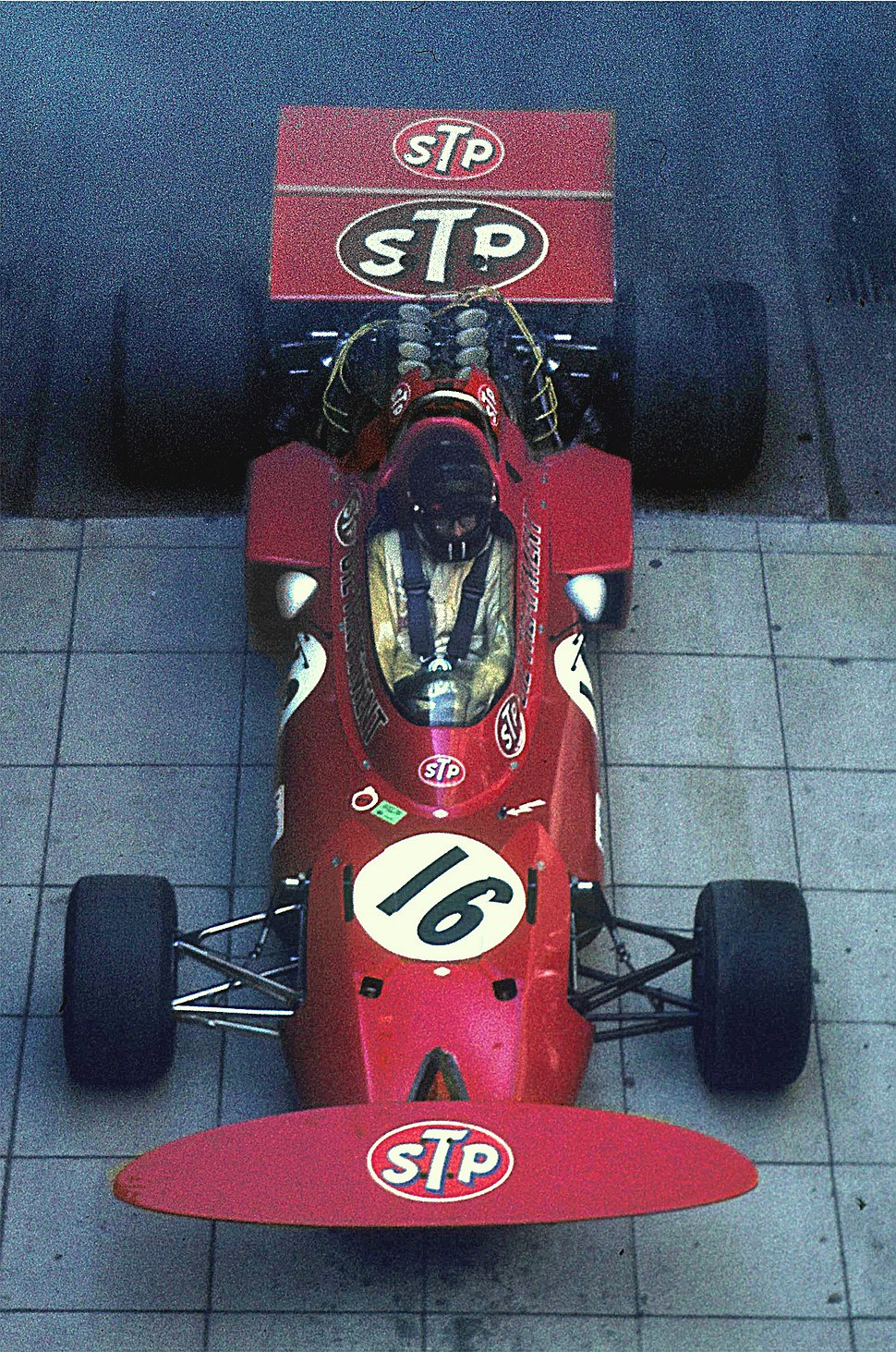 Andrea de Adamich, March 711 Alfa Romeo (1971)