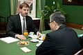 Andrejs Klementjevs tiekas ar Kazahstānas vēstnieku (6435923353).jpg