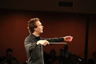 Andrew Gourlay - Andrew Gourlay conducting