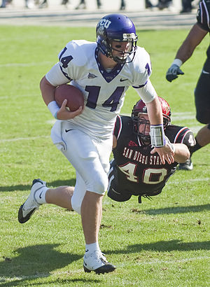 Andy Dalton - Dalton playing for TCU