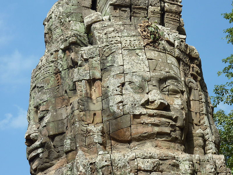 Angkor - Ta Prohm - 002 Face Tower (8581924948).jpg