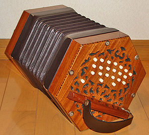Concertina - Bastari 40-button Anglo concertina