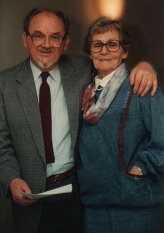 Anker Jørgensen - Ingrid and Anker Jørgensen, 1990