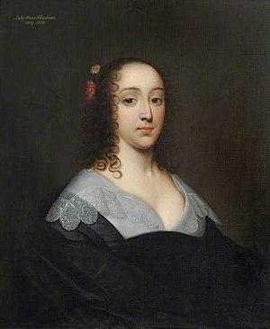 Ann, Lady Fanshawe - Ann, Lady Fanshawe, by Cornelis Janssens van Ceulen