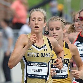 Anna Rohrer American long distance runner