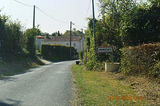 Annezay Commune in Nouvelle-Aquitaine, France