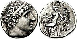 Antiochos I., Seleukidenreich, König