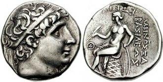 Antiochus I Soter - Image: Antiochos I Tetradrachm 620447