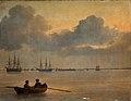 Anton Melbye - Stille aften på Københavns Red - 1847.jpg