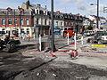 Anzin & Valenciennes - Travaux de raccordement des lignes A & B du tramway de Valenciennes à la Croix d'Anzin le 13 août 2013 (46).JPG