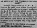 Appeal of the bay saint louis colored red cross - 1917.png