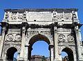 Arch of Constantine, South face, Rome (8130461993).jpg