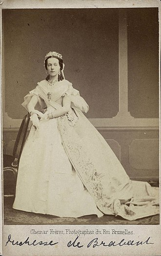 Marie Henriette of Austria - Image: Archduchess Marie Henriette of Austria ,Queen of the Belgians