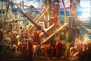 Siege of Syracuse (214–212 BC) - Image: Archimedes Directing the Defenses of Syracuse