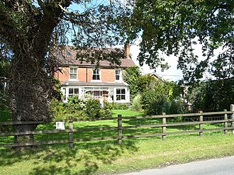 Civil parishes in Cheshire - Image: Arclid Springbank Farm