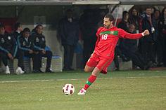 Quaresma con la maglia della nazionale portoghese