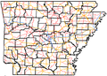 Arkansas Interstates map with counties.png