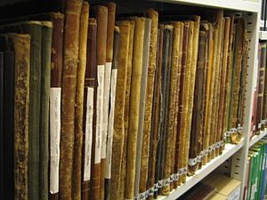Documentation of cultural property - Historical paper files