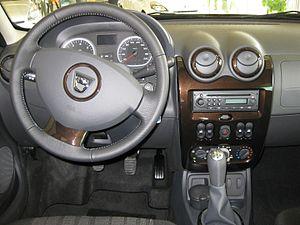 Dacia Duster - Dacia Duster interior