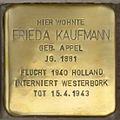 Arnstadt-Stolpersterin-Frieda-Kaufmann-CTH.JPG