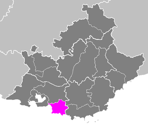 Arrondissement of Marseille - Image: Arrondissement de Marseille