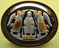 Arte federiciana (attr.), scena di incoronazione, sardonice, 1220-1230 ca.JPG