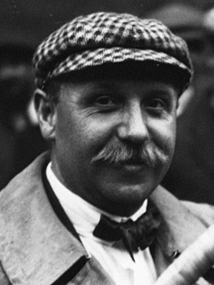 Arthur Duray - Arthur Duray at the 1914 French Grand Prix